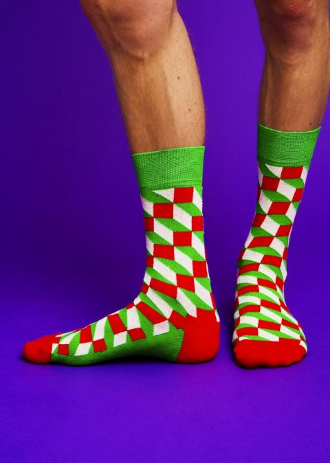 Optic 02 - Polka Dot Happy Socks (op10 - 002)